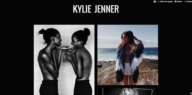 pagina Kylie