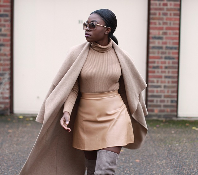 camel-coat-camel-leather-skirt-grey-suede-over-the-knee-boots-3