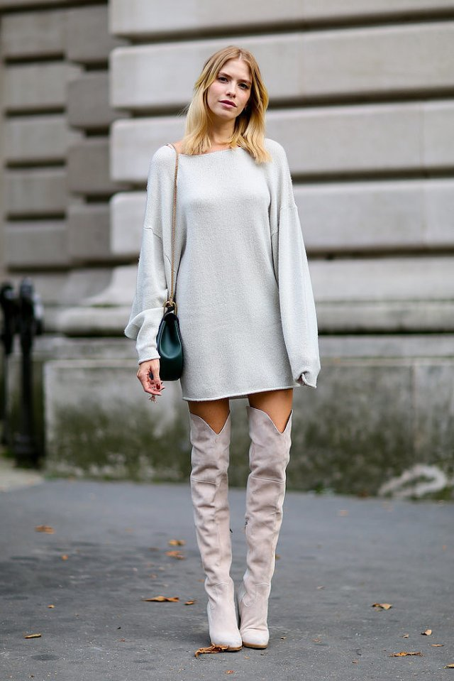 Over-knee-boots-were-recurring-trend-outside-Spring-2015